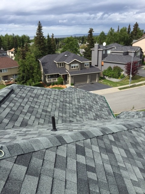 Malarkey legacy 3m shingles oxford grey traditional - Exterior house painting anchorage ...