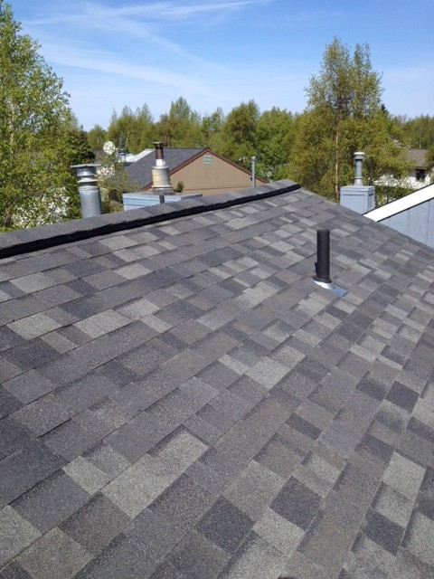Malarkey Legacy Shingles Storm Grey Traditional Exterior Other By PREMIER ROOFING CO