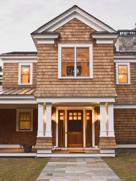 Cape cod front door exterior design ideas pictures for Shingle style siding