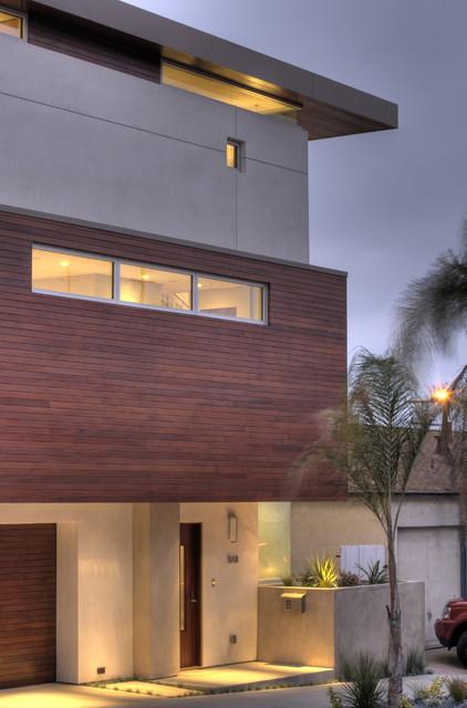 Manhattan Ave Residence modern-exterior
