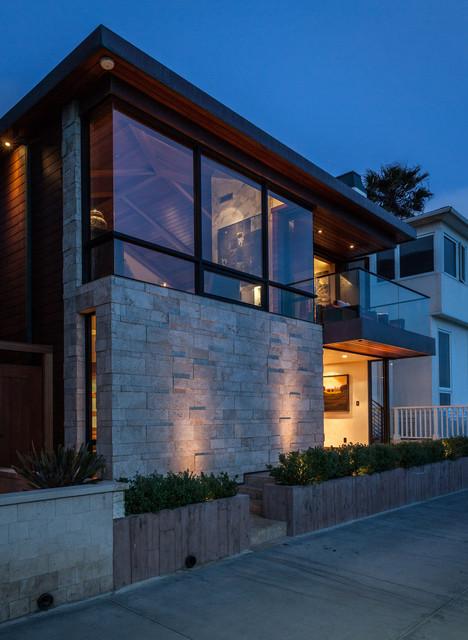 manhattan beach ocean front residence contemporary