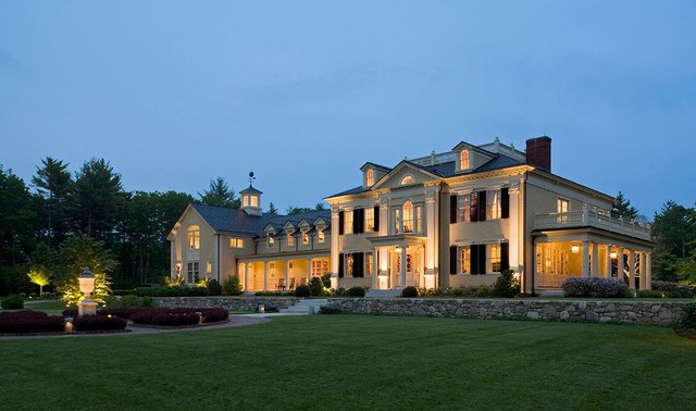 Mansion Traditional Exterior Boston By Design Resource