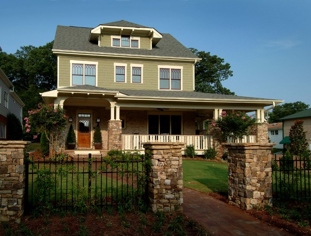 Maple Avenue Home Craftsman Exterior Atlanta By