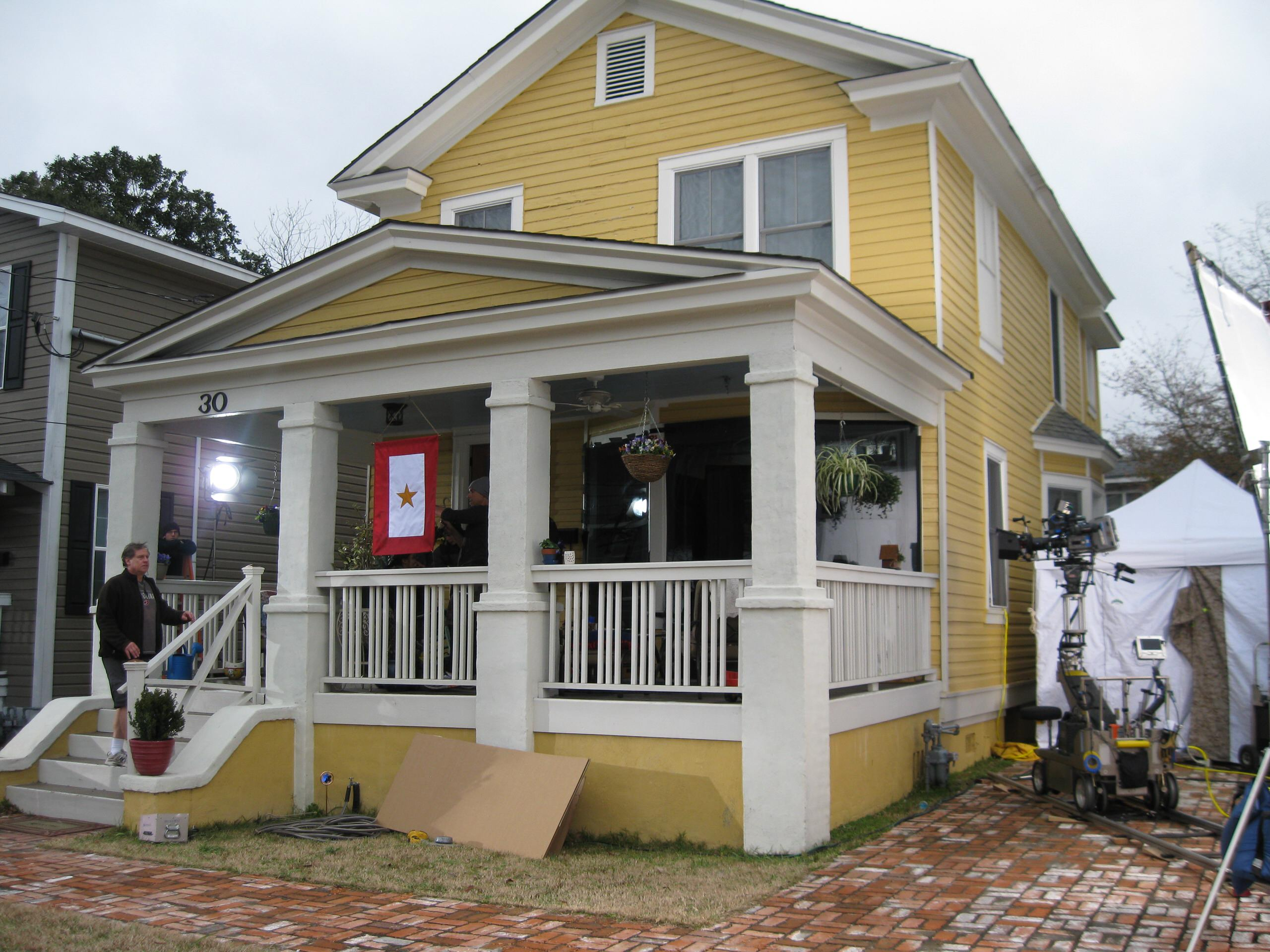 Maple St., Army Wives Production
