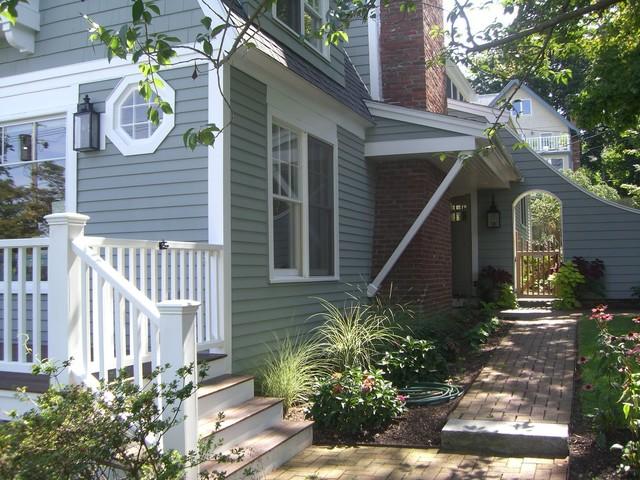 Marblehead cottage - Cottage paint colors exterior set ...