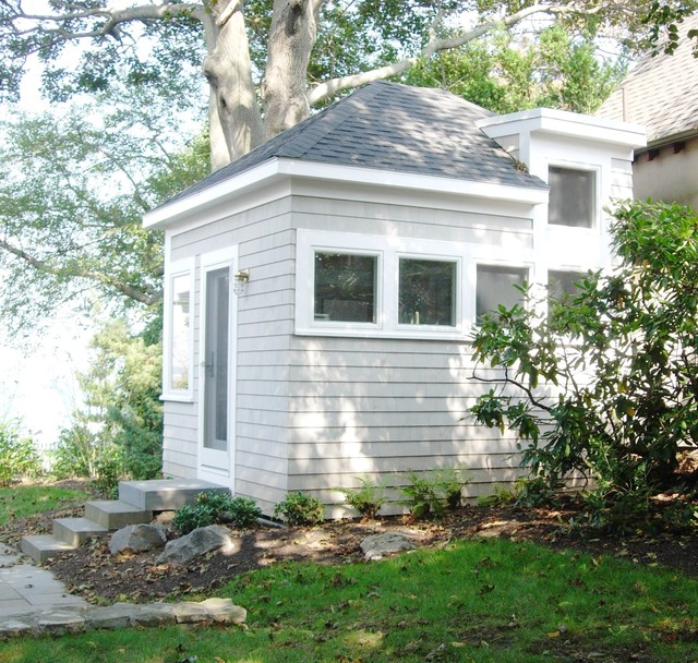 Marblehead Play House contemporary exterior
