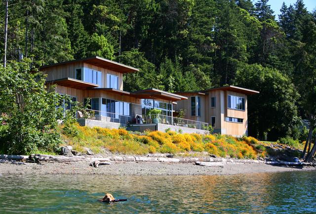 Marc laroche architects bainbridge island wa modern for Bainbridge architects