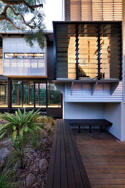 Marcus Beach House, Marcus Beach, Sunshine Coast tropical-exterior