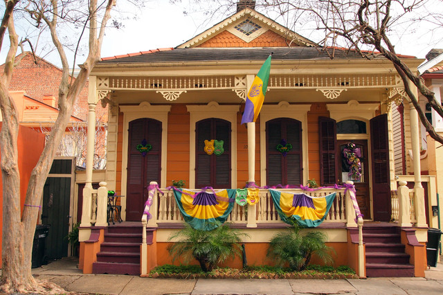 Mardi Gras Eclectic Exterior New Orleans By Kayla Stark