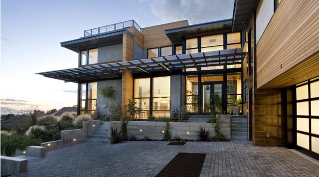 Margarido House modern-exterior