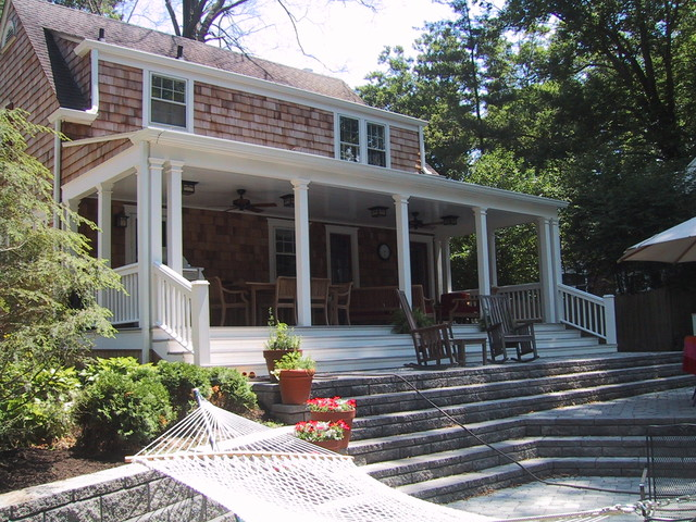 Mariemont Back Porch Addition traditional-exterior