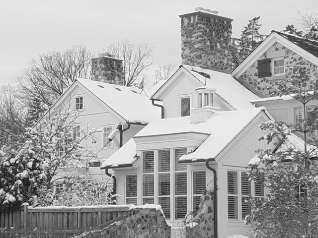 Mark Hickman Homes traditional-exterior