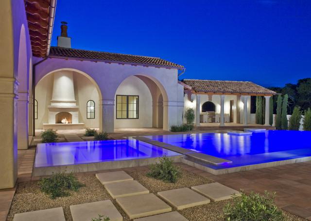 Marly Way Pool mediterranean-exterior