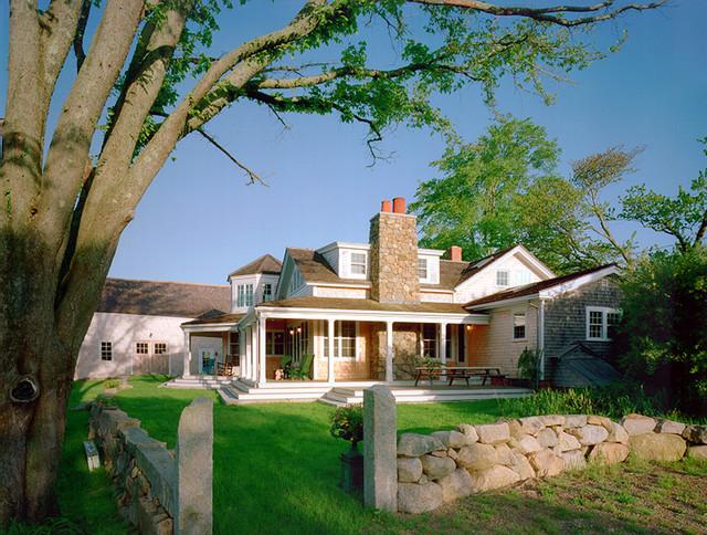 Martha's Vineyard Residence traditional-exterior