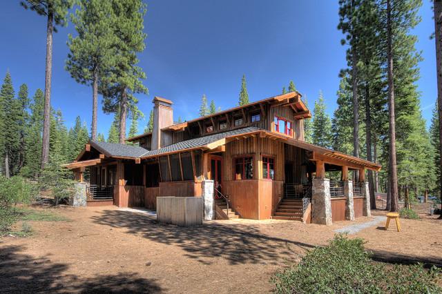 Martis Camp, Lake Tahoe rustic-exterior
