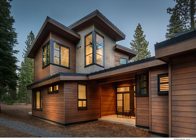 Martis Camp Lot 106 contemporary-exterior