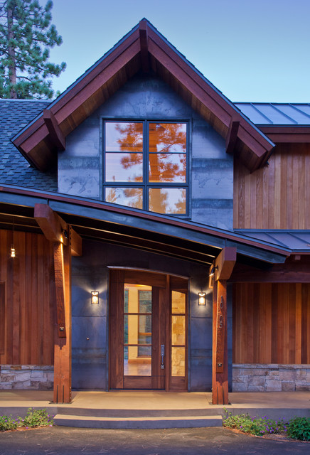 Martis camp lot 236 contemporary exterior san for Tahoe architects
