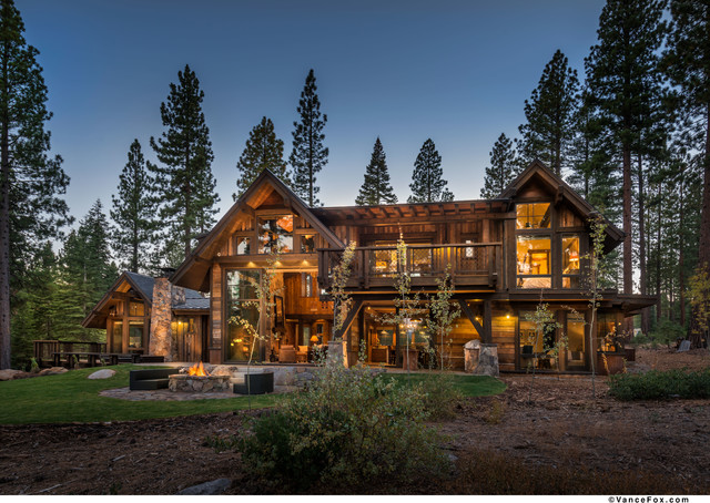 Martis Camp Retreat Rustic Exterior San Francisco
