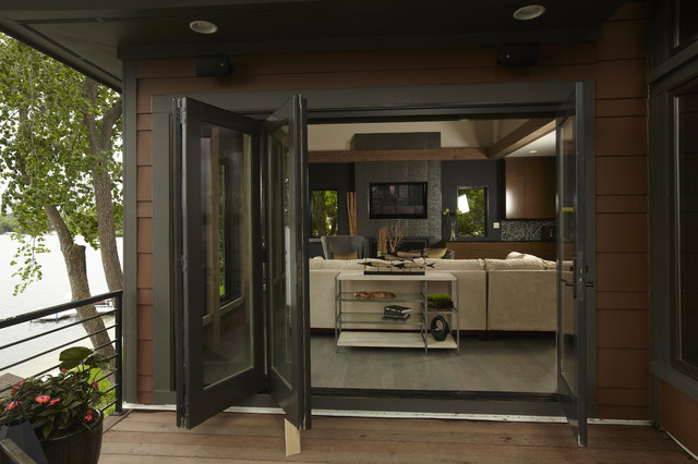 Good Marvin Bi Fold Doors Contemporary Exterior Part 25