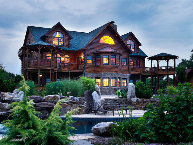 Maryland countryside estate traditional exterior dc for Maryland home builders