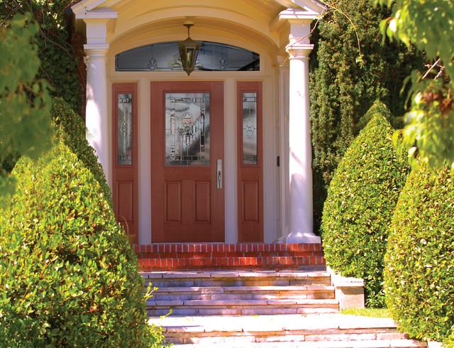 Belleville Fir Textured Entry Door Exterior By