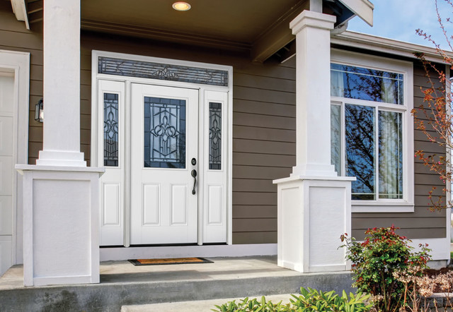 Belleville Smooth Entry Door Exterior By Masonite Doors
