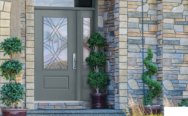 Belleville Smooth Entry Door Front Doors By Masonite Doors