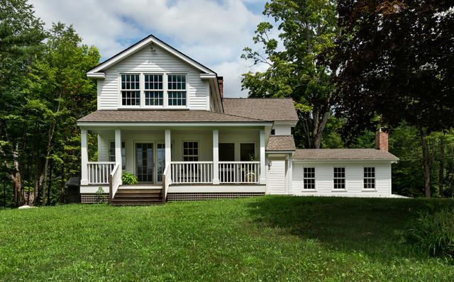 Massachusetts Farm House Farmhouse Exterior New York