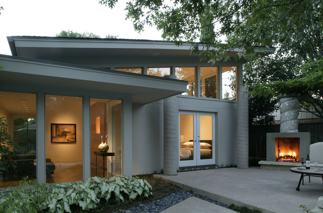 master bedroom addition contemporary-exterior