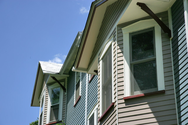 Matching Bracket And Window Trim Traditional Exterior Dc Metro By Heritage Building And