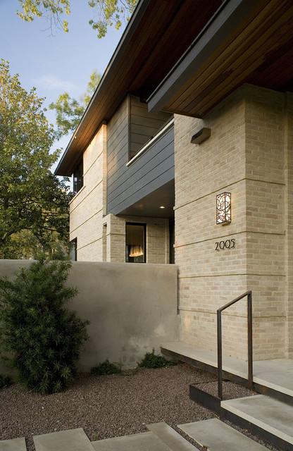 matthews exterior metal balcony contemporary-exterior