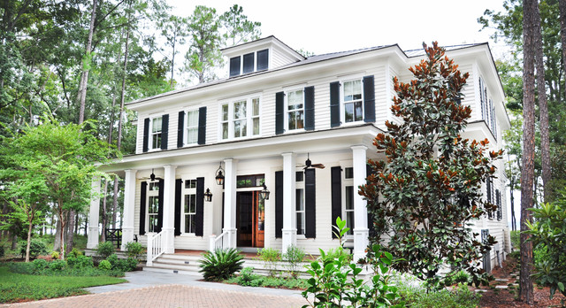 Elegant May River Custom Home Traditional Exterior