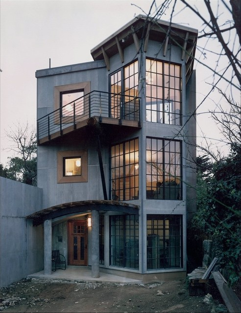 Maybeck Inspired-Exterior eclectic-exterior