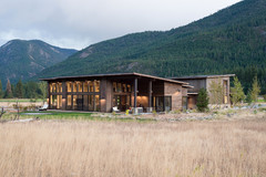 A Modern-Rustic Family Home Designed to Survive Wildfires