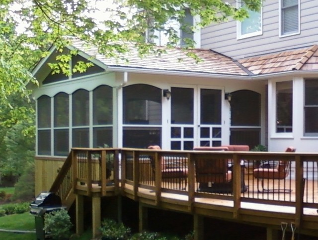 McAleer - Deck & Porch traditional-exterior