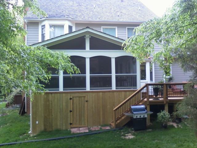 McAleer - Deck & Porch traditional-exterior