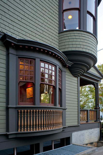 mccloud residence traditional exterior portland by. Black Bedroom Furniture Sets. Home Design Ideas