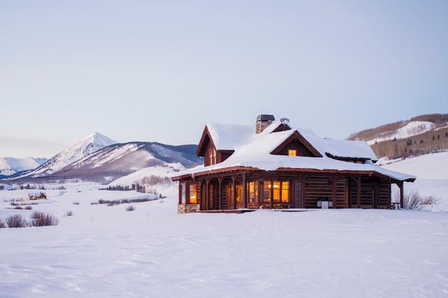 100 Beautiful Snowy Scenes From Houzz (100 photos)
