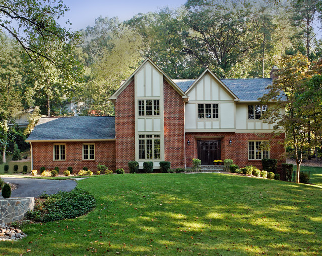 Mclean Tudor Curb Appeal Traditional Exterior Dc Metro By Winn Design Build