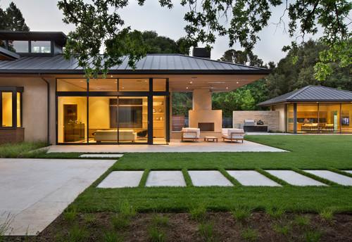 Fassadenfarbe modern  Was für eine Fassadenfarbe hat dieses Haus?