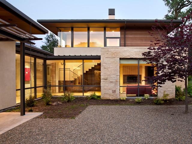 Meadow Creek Residence contemporary-exterior