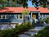 scandinavian exterior Houzz Tour: Ranch House Changes Yield Big Results (12 photos)