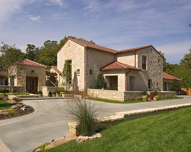 Mediterranean tuscan style homes for Tuscany houses