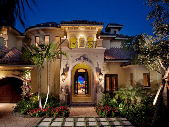 Mediterranean dream mediterranean exterior miami for Best mediterranean home designs