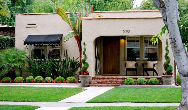 Outdoor Spaces Mediterranean Exterior Orange County
