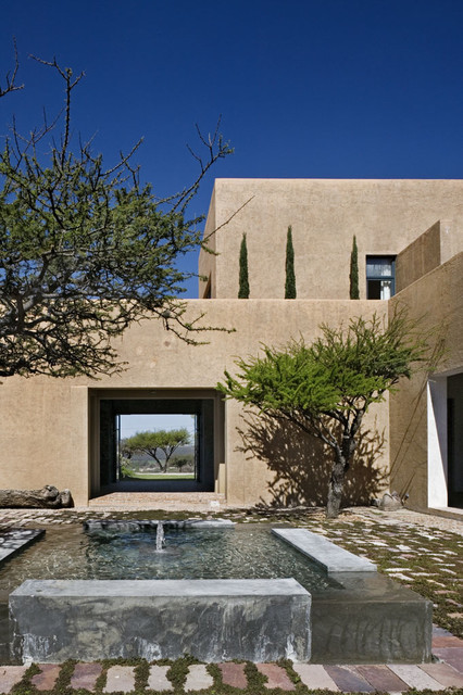 Mexico House mediterranean-exterior