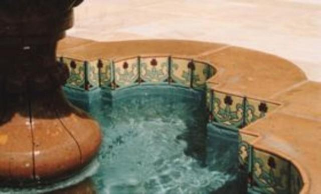 California Fountain mediterranean-exterior