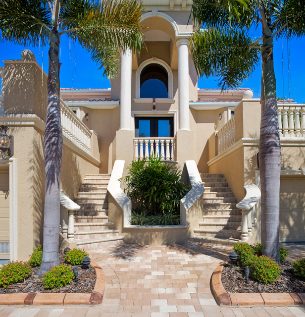 Exterior Pictures Of Mediterranean Style Homes Cities: Mediterranean Exterior