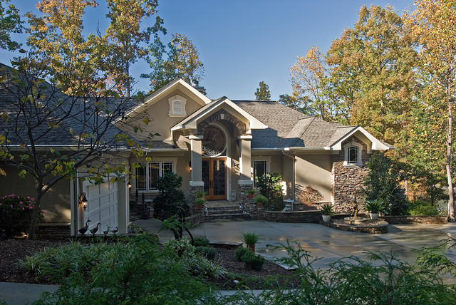 Mediterranean traditional exterior charlotte by for Pippin home designs