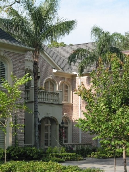 Inspiration for a timeless exterior home remodel in Houston